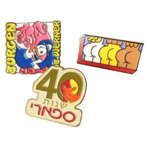 Factory Custom Soft Enamel Glitter Metal Pins Badge / Latel Pin (YB-HR-23) pictures & photos