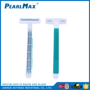 Superior Quality Women Twin Blade Disposable Razor Directly pictures & photos