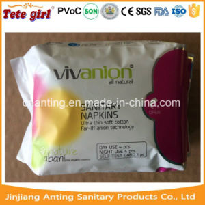 Wholesale Ultra Thin, Anoin Breathable Ladies Sanitary Pad by China Manufacturers pictures & photos