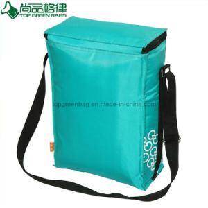 420d PVC Polyester Shoulder Strap Large Insulated Lunch Foold Cooler Bag pictures & photos