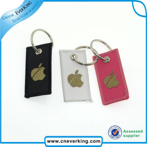 High Quality Woven Custom Embroidery Keychains pictures & photos
