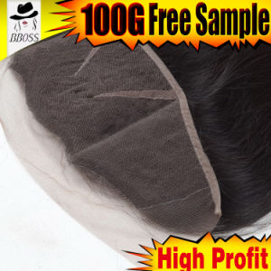 Brazilian Human Hair Lace Frontal with 13X3 Size pictures & photos