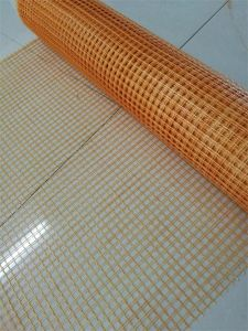 10mm× 10mm Yellow Glass Fiber Reinforced Mesh for Concrete pictures & photos