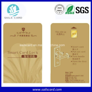 Wholesale PVC ISO 7816 Sle 5542/5528 /Atmel Contact IC Card pictures & photos