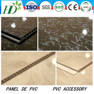 25cm7mm/7.5mm Unique Laser Stamping PVC Ceiling Panel (RN-05) pictures & photos