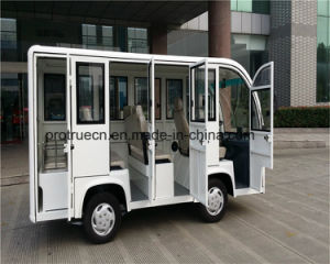 Tourist Bus with 8 Seats Sightseeing Car in City Closed Body pictures & photos