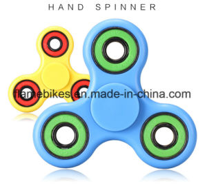 Wholesale Anti Anxiety Desk Toy Alunimun Brass Spinner Hand Fidget Spinner pictures & photos