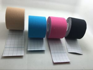Wholesale Medical Therapy Cure Kinesiology Tape with 5cm*5m pictures & photos