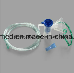 Portable Holding Inhaler Asthma Nebulizer Chamber pictures & photos