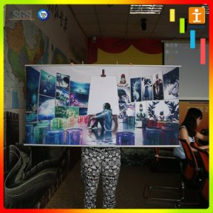 Advertising Printed Wall Ceiling Fabric Hanging Scroll pictures & photos