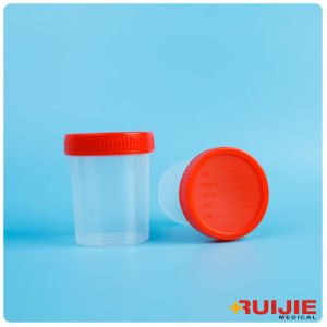 Disposable PP Material Hospital 40ml Urine Container pictures & photos