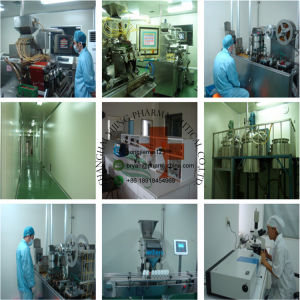 Manufacturer Supply Anti Aging Bodybuilding Peptide Injection Sermorelin Acetate 86168-78-7 pictures & photos