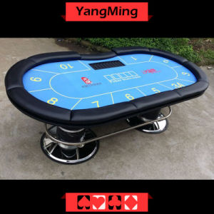 Texas Casino Poker Table Oval Disk Feet (YM-TB021) pictures & photos