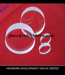 Thick Circular Shape Clear Fused Quartz Plate pictures & photos