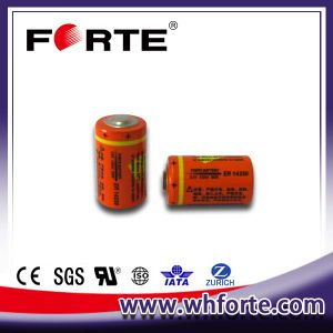 3.6V Electricity Meter Battery Er14250 Er14250m with Pins pictures & photos