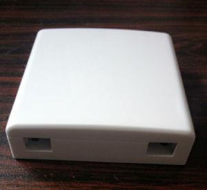 2 Port FC Simplex Style Fiber Optic Faceplate pictures & photos