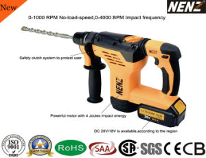 Nenz SDS Multi Function Cordless Power Tool with 2 Lithium Batteries (NZ80) pictures & photos