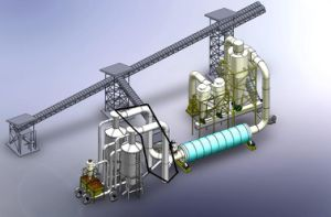 Large Capacity Sawdust Dryer Rotary Kiln pictures & photos