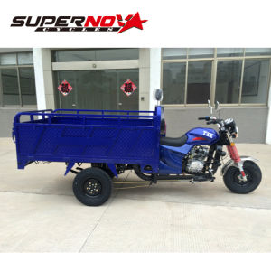 Widely Used Gas Powered 3 Wheel Tricycle with Good Price pictures & photos