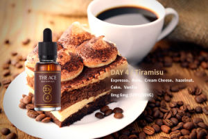 Natural Environmental Protection Products Day 4 DIY Tiramisu Flavor 10ml E Liquid E Liquid British Style E Juice pictures & photos