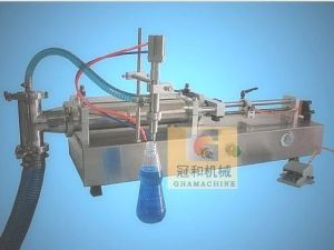 Self-Priming Liquid Filling Machine with Pneumatic Piston Filling pictures & photos