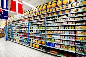 Supermarket Shelf With a Flat Back (JT-A01)