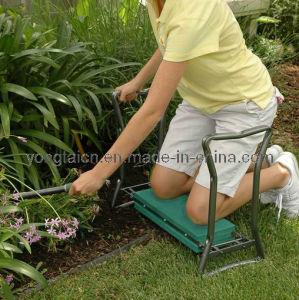 Green Folding Garden Kneeler Bench pictures & photos