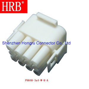 6.35 Pitch Triple Row Nylon Housing Connector pictures & photos
