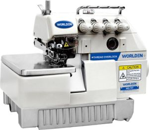 Wd-757 Five Thread Overlock Sewing Machine pictures & photos