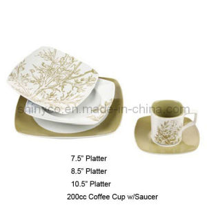 30PCS Porcelain Dinner Set (Style#3458) pictures & photos