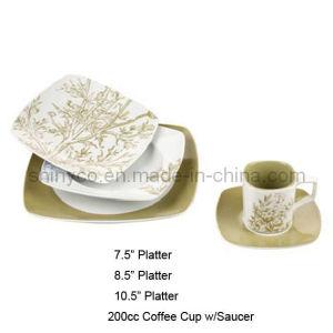 30PCS Porcelain Dinner Set (Style#3458)