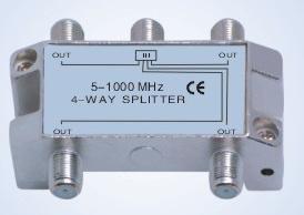 5-1000MHz CATV/Matv Splitter (B104)
