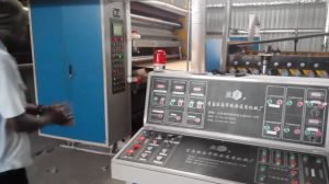Automatic High Speed Corrugated Board Making Machine pictures & photos