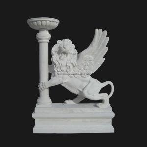 Stone Lion Carving Sculpture Decoration (ANL001) pictures & photos