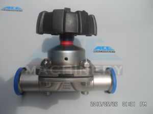 Stainless Steel Two Way Hygienic Manual Diaphragm Valve (ACE-GMF-X4) pictures & photos