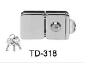 Stainless Steel Lock /Glass Door Hinge / Td-318 pictures & photos