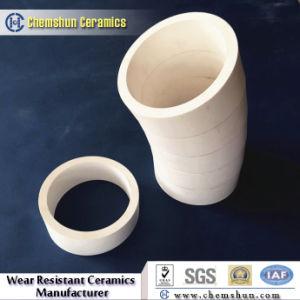 92% Al2O3 High Temperature Resistant Ceramic Tube Pipe pictures & photos