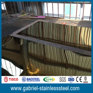Color Coated 201 Stainless Steel Roofing Sheet 304 pictures & photos