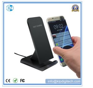 High Power Smart Battery Charger Slanting Design, Fast Wireless Charger pictures & photos