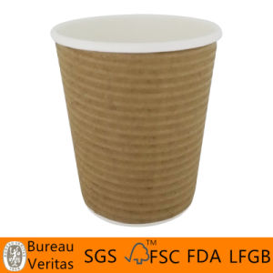 Disposable Colourful Paper Cups for Popcorn pictures & photos