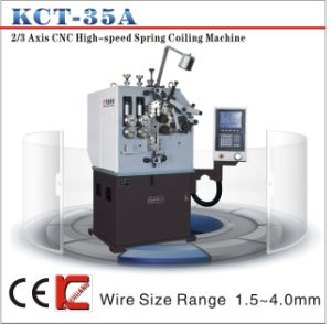 Kcmco-Kct-35A 4.0mm 3 Axis CNC Versatile Spring Forming Machine&Extension/Torsion Spring Making Machine pictures & photos