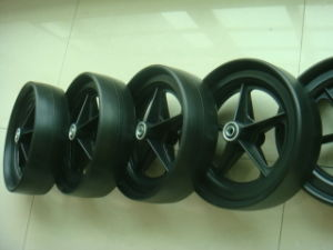 PU Foam Wheel for Golf Cart (wheel size: 254X70mm) pictures & photos