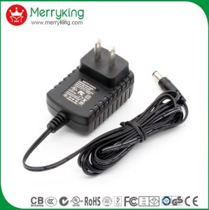 Diversified Latest Designs 12V 1A 1000mA AC DC Adaptor Us Plug with UL cUL FCC PSE pictures & photos