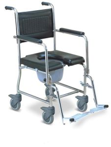 S. S Commode Wheelchair (SC-CW05(SS)) pictures & photos