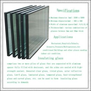 Low-E Insulated Glass / Hollow Glass / Double Glazed Glass pictures & photos