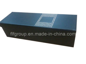 Promotional Black Elegant Top Quality Leather Wine Box (FG8016) pictures & photos