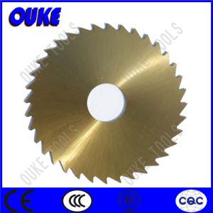Cutting Brass HSS Circular Slot Cutter pictures & photos
