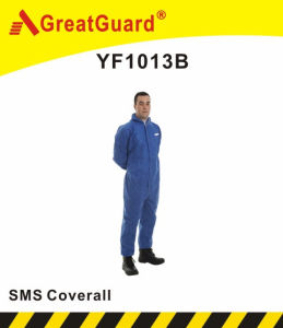 Disposable Type5&6 SMS Coverall (YF1013B) pictures & photos