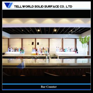 Top Design Acrylic Solid Surface Wine Bar Counter (TW-154) pictures & photos