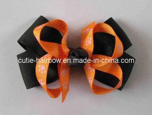 Halloween Hair Bows, Baby Bows, Bow Headbands, Holiday Gift (LB-036)